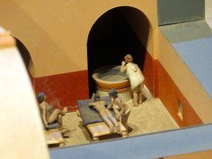 Bath-diorama
