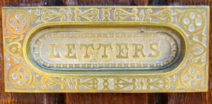 Letter slot